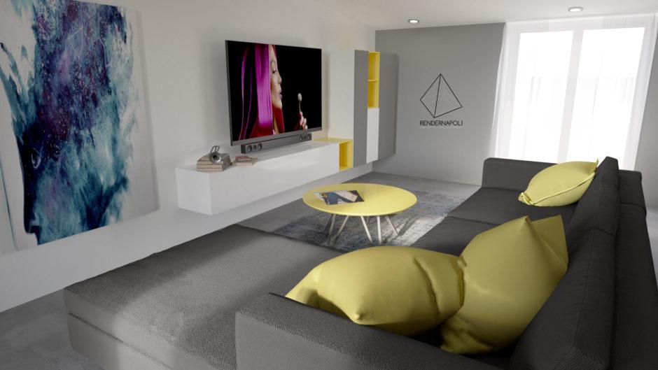 modern attic mansarda moderna